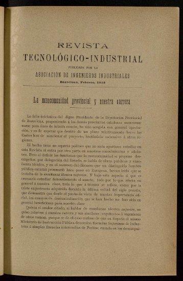 THZCNOLÓGICO-INDUSTRLAL - Fons antic de la UPC