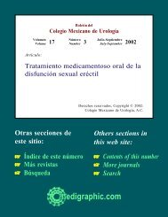 Tratamiento medicamentoso oral de la disfunción ... - edigraphic.com