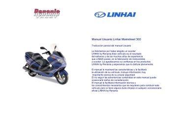 Manual Usuario Linhai Mainstreet 300