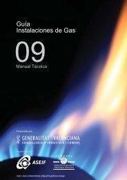 Guía Instalaciones de Gas - Femeval