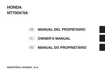 manual del propietario - Honda