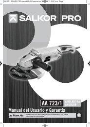 AA 723-1 SALKOR PRO manual_LO 612 manual ... - Gruposbk.com.ar