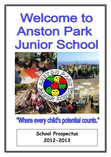 download our prospectus here - Anston Park Junior School