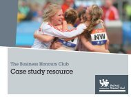 Case study resource - Youth Sport Trust