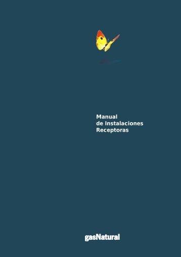 Manual de Instalaciones Receptoras - Prosener
