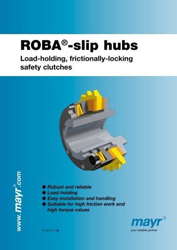 ROBA-slip hubs - Roth GmbH & Co. KG