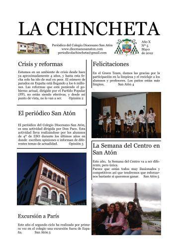 LA CHINCHETA - Colegio Diocesano San Atón