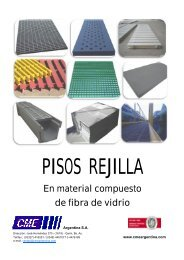 CME - Folleto de pisos rejilla moldeados - Rev. 4 - CME Argentina