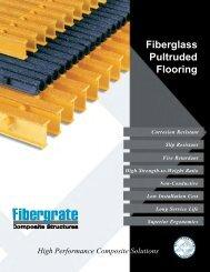 Fiberglass Pultruded Flooring - GMF Mexican Fibers