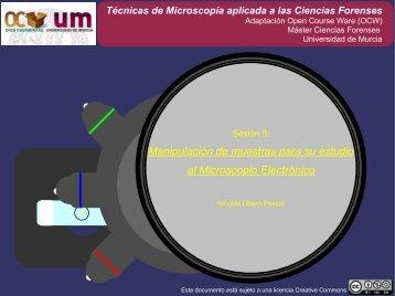Máster Ciencias Forenses - OCW - Universidad de Murcia