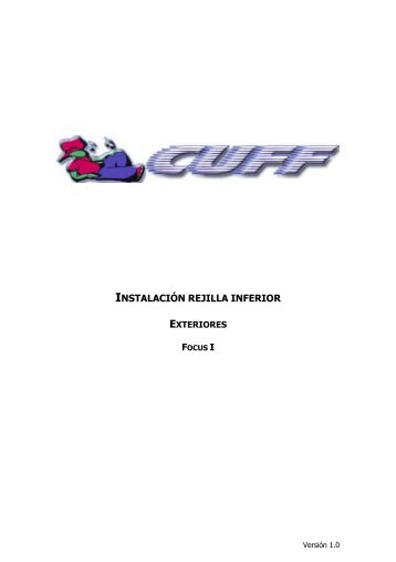 Brico Instalación rejilla inferior - Club Usuarios Ford Focus