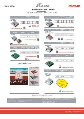 vigente a partir del 06-dec-2012 - durman.com.mx