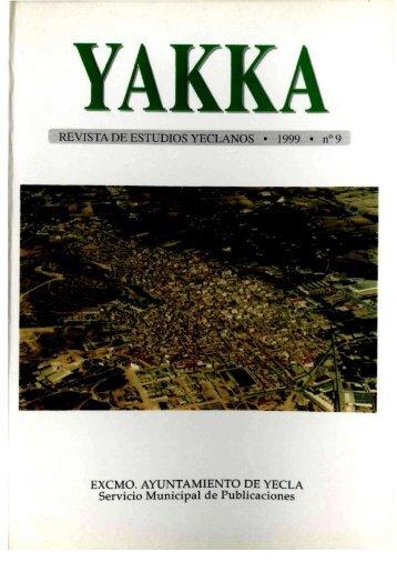 Yakka. Año XI. Número 9 (1999) - Bibliotecas Públicas