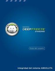 Deep Freeze Standard Guia de usuario - Bajenlo.com