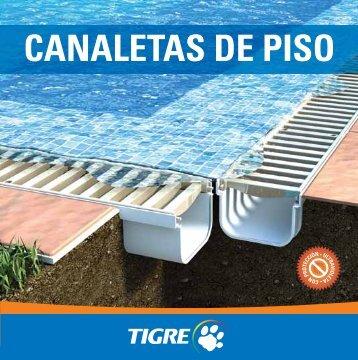 CANALETAS DE PISO