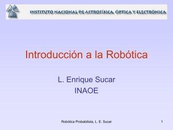 Robótica Probabilista - inaoe