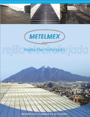 Rejilla Electroforjada - Grupo Metelmex