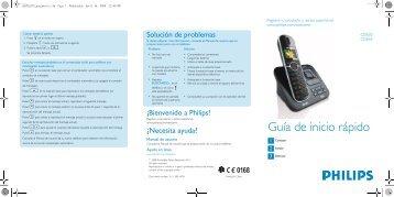 Guía de inicio rápido - Philips