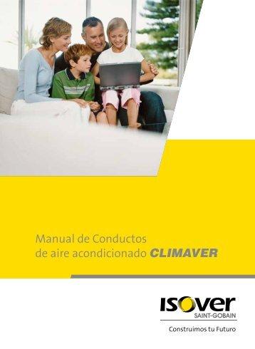 Manual de Conductos de aire acondicionado CLIMAVER