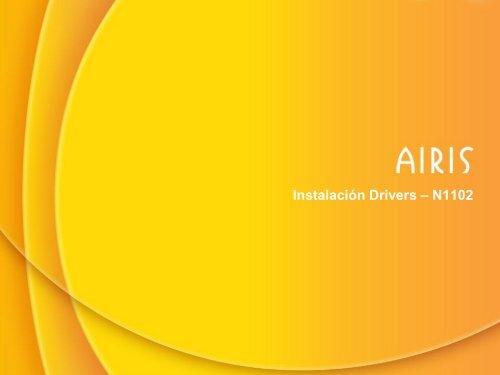 airis n1102+treiber