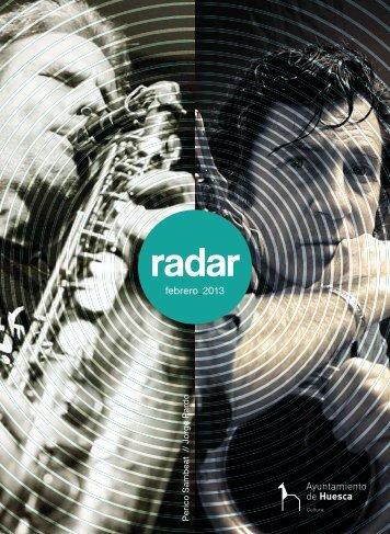 Radar febrero 2013 - Ayuntamiento de Huesca