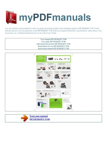 User Manual for Hp 5255 printer Not Printing Black ink Only