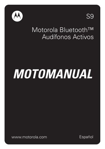 S9 Motorola Bluetooth?