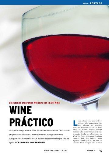 WINE PRÁCTICO - Linux Magazine