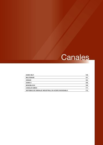 Canales - Dicona