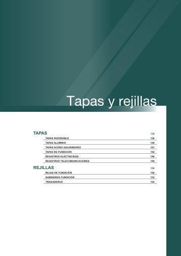 Tapas y rejillas - Dicona