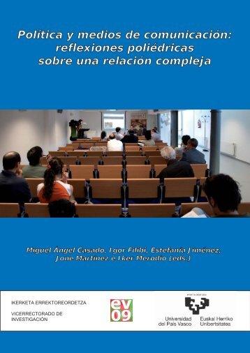 Política y medios de comunicación - Euskal Herriko Unibertsitatea