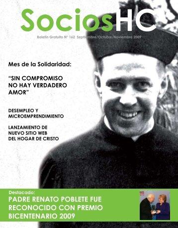 padre renato poblete fue reconocido con premio bicentenario 2009