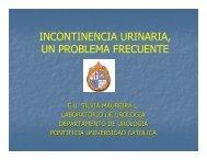 incontinencia urinaria, un problema frecuente - Pontificia ...