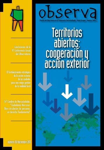 número 10/diciembre 2011 - Observatorio de Cooperación ...