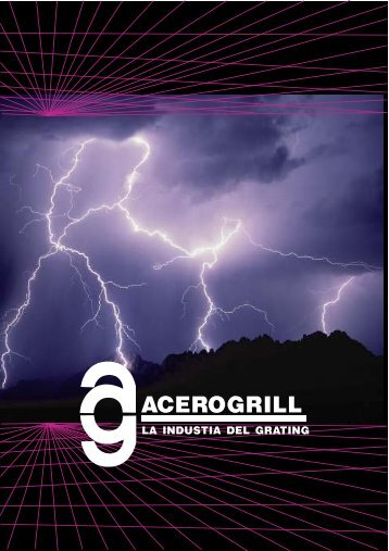 Catálago de Acerogrill.