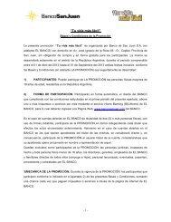 """""""Tu vida más fácil"""" - Banco San Juan"""