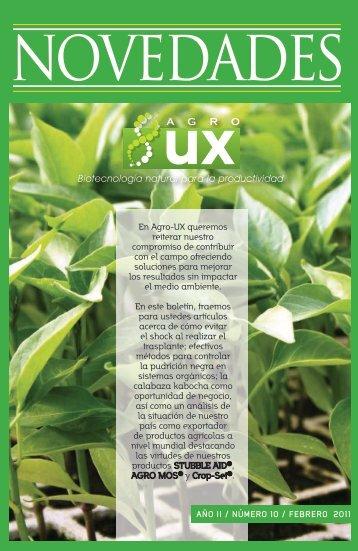 En Agro-UX queremos reiterar nuestro ... - agro-ux biocontrol