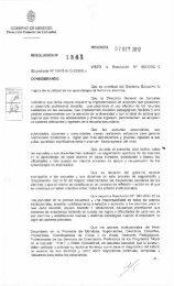 Resoluciòn 1341 Jornadas de Nivel Secundario - Mendoza Educa