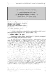 transformación entre sistemas cartesianos tridimensionales - Sitop