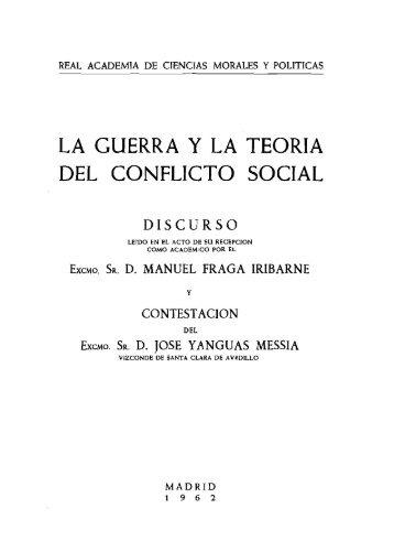 Discurso de ingreso - Real Academia de Ciencias Morales y Políticas