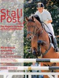 Das Magazin für Reiter an Ruhr und Emscher Mit ... - KRV-Dortmund