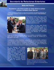 Presidente Lobo Sosa recibe en visita oficial al primer ministro de ...