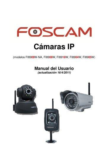 manual en español - Cámaras IP