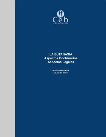 LA EUTANASIA Aspectos Doctrinarios Aspectos Legales - Inicio