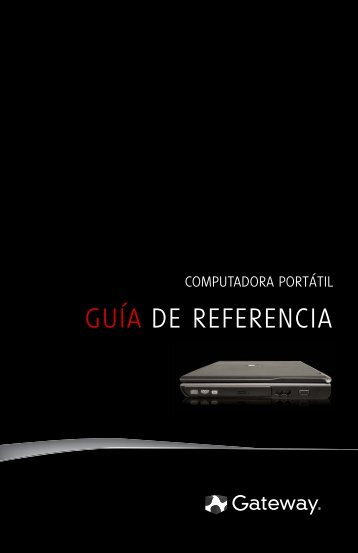 COMPUTADORA PORTÁTIL - Gateway