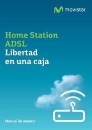 Manual de usuario Home Station ADB P.DG A4001N - Movistar