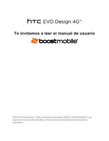 HTC EVO Design 4G - Boost Mobile