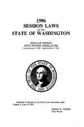 Volume 2 - Washington State Legislature