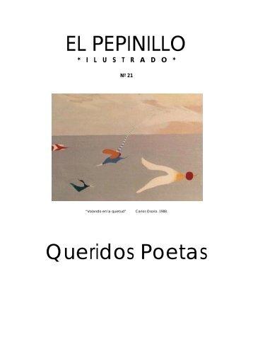 El Pepinillo nº 21 (Extra de poesía. Poetas amigos) - Carlos Osorio