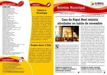 Casa do Papai Noel reinicia atividades no início de novembro - Sobral